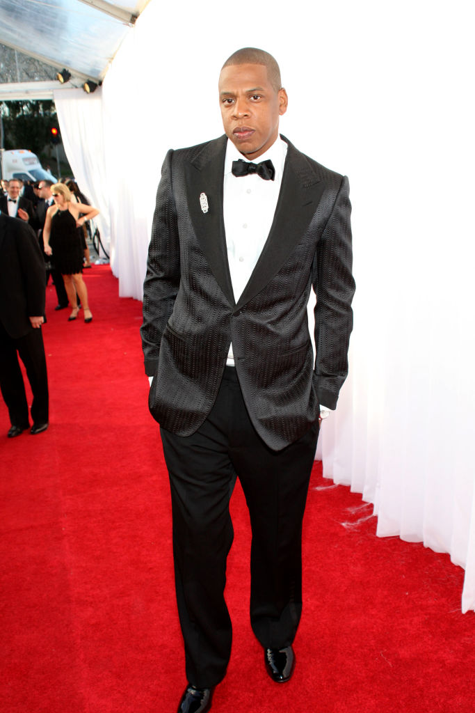 JAY-Z AT THE 50TH ANNUAL GRAMMY AWARDS, 2008