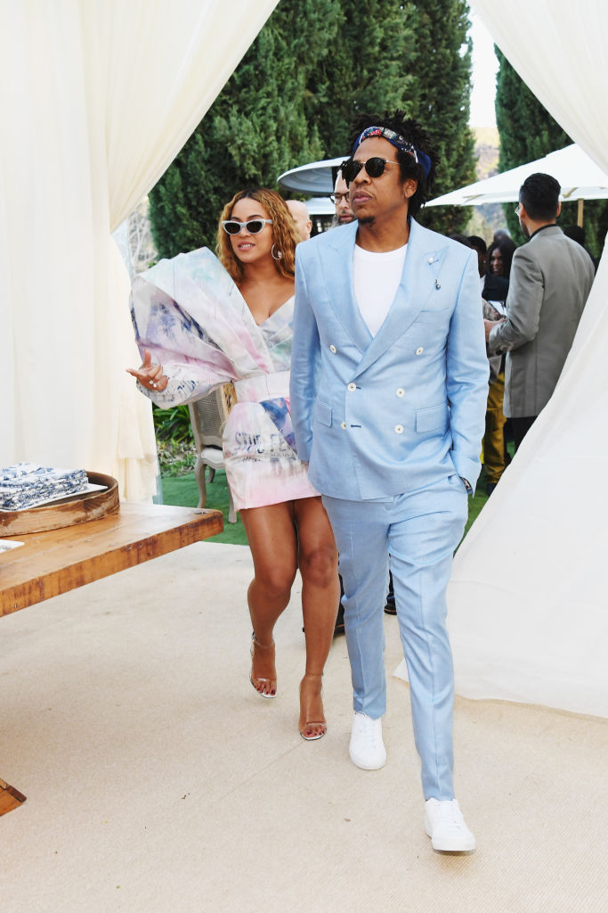 JAY-Z AND BEYONCE AT THE ROC NATION BRUNCH, 2019