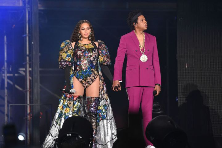 JAY-Z AND BEYONCE AT THE GLOBAL CITIZEN FESTIVAL, 2018