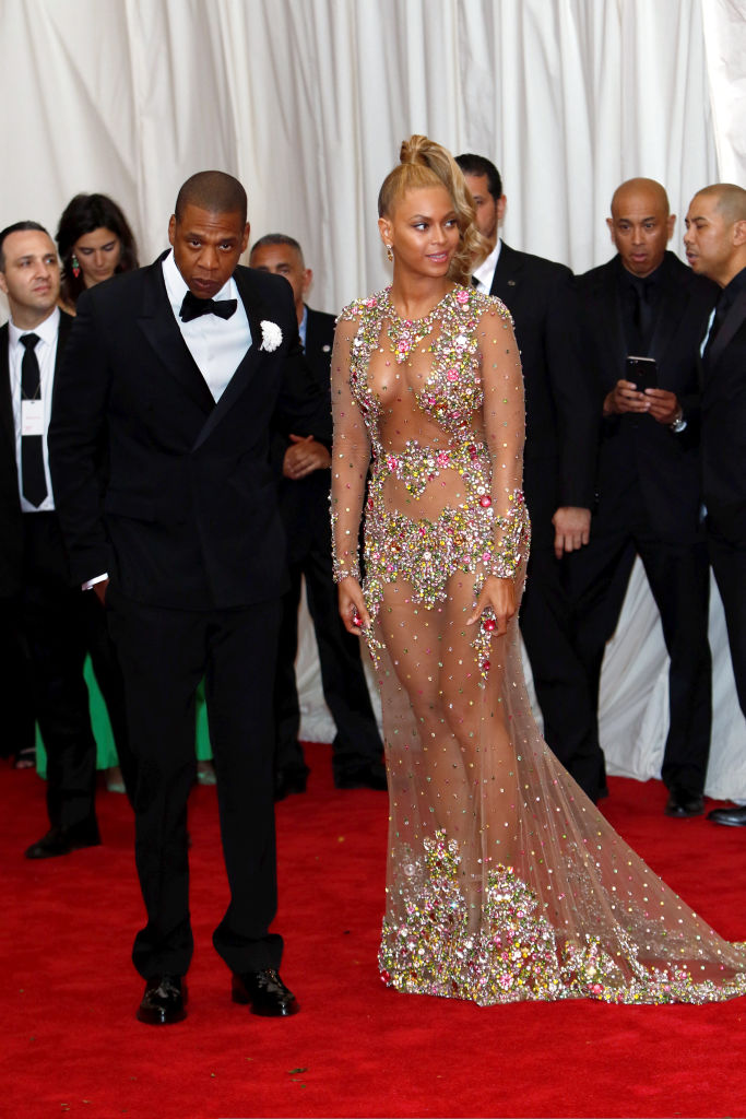 JAY-Z AND BEYONCE AT THE MET GALA, 2015