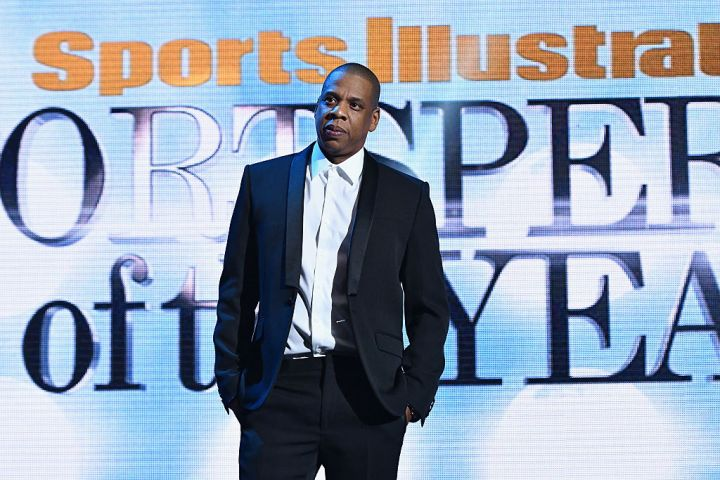 JAY-Z AT THE SPORTS ILLUSTRATED SPORTSPERSON OF THE YEAR CEREMONY, 2016