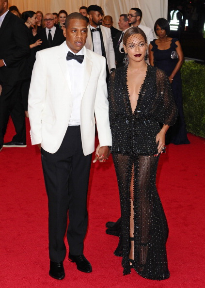 JAY-Z AND BEYONCE AT THE MET GALA, 2014