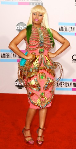 ARRIVALS FOR THE 2010 AMERICAN MUSIC AWARDS
