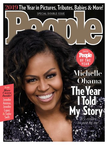 Michelle Obama Person Of The Year PEOPLE