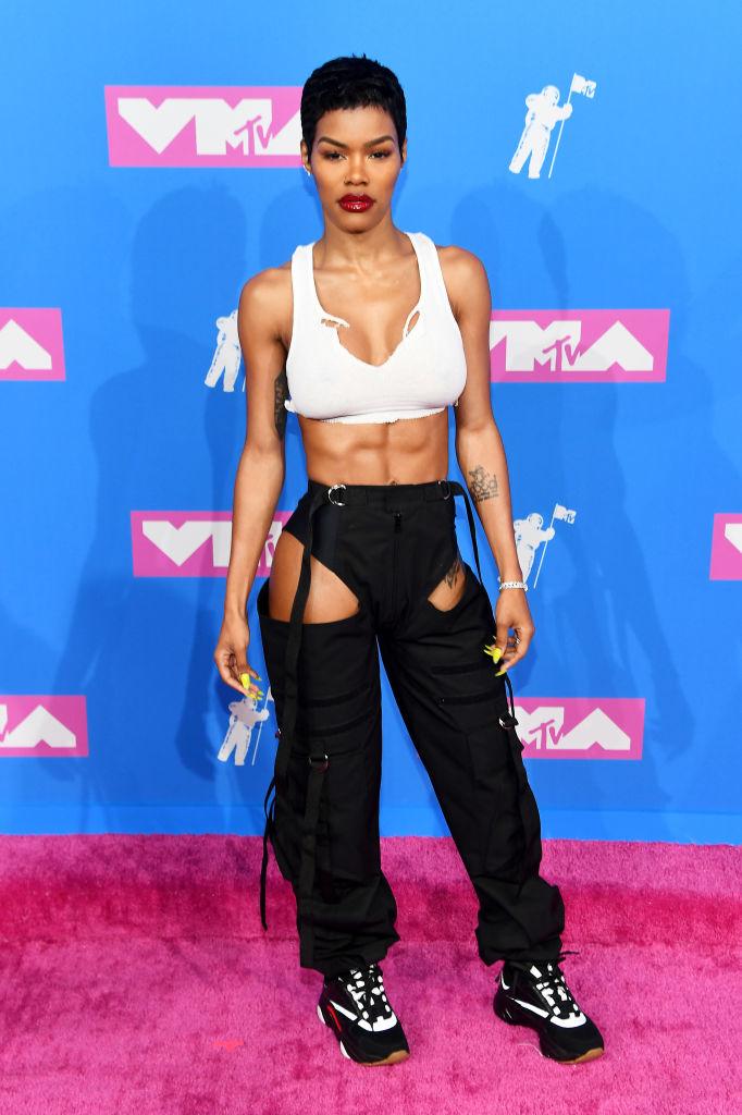 TEYANA TAYLOR AT THE MTV VIDEO MUSIC AWARDS, 2018