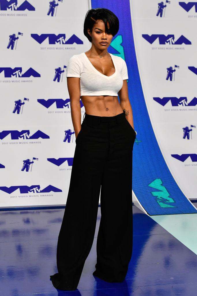 TEYANA TAYLOR AT THE MTV VIDEO MUSIC AWARDS, 2017