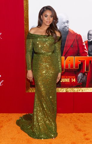 Regina Hall attends the Shaft Premiere at AMC Lincoln Square...