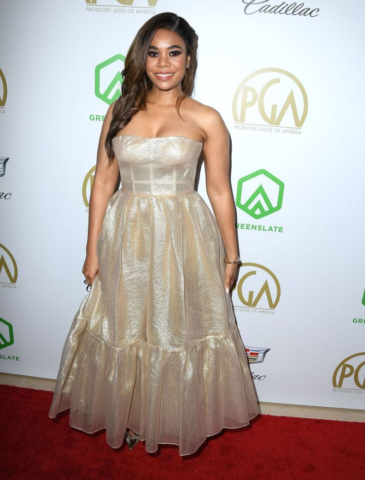 REGINA HALL AT THE 30TH ANNUAL PRODUCERS GUILD AWARDS, 2019