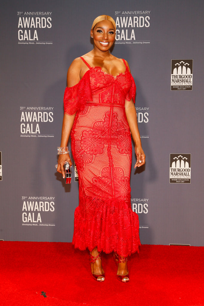 NENE LEAKES AT THE THURGOOD MARSHALL COLLEGE FUND'S 31ST ANNIVERSARY AWARDS GALA , 2018