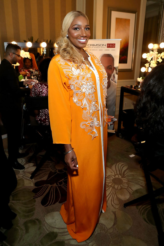 NENE LEAKES AT MERCEDES-BENZ AWARDS VIEWING PARTY, 2017