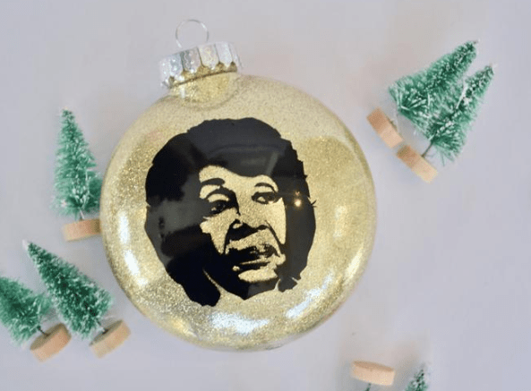 Maxine Waters Christmas Ornament