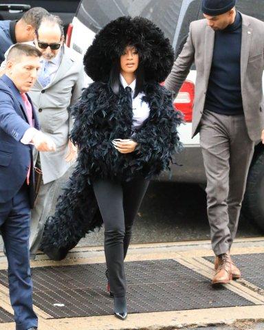 Celebrity Sightings In New York City - December 10, 2019