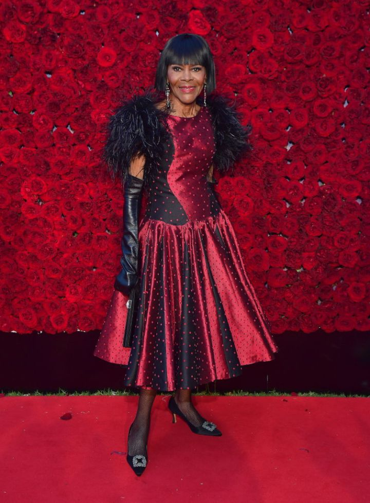 MS. CICELY TYSON AT TYLER PERRY STUDIOS GRAND OPENING GALA, 2019