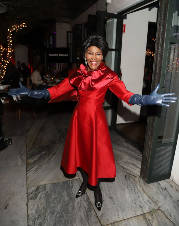MS. CICELY TYSON AT COMMON'S 5TH ANNUAL TOAST TO THE ARTS EVENT, 2019