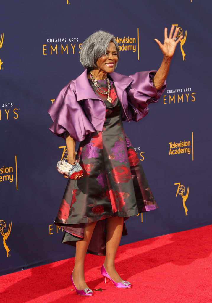 MS. CICELY TYSON AT THE CREATIVE ARTS EMMY AWARDS, 2018