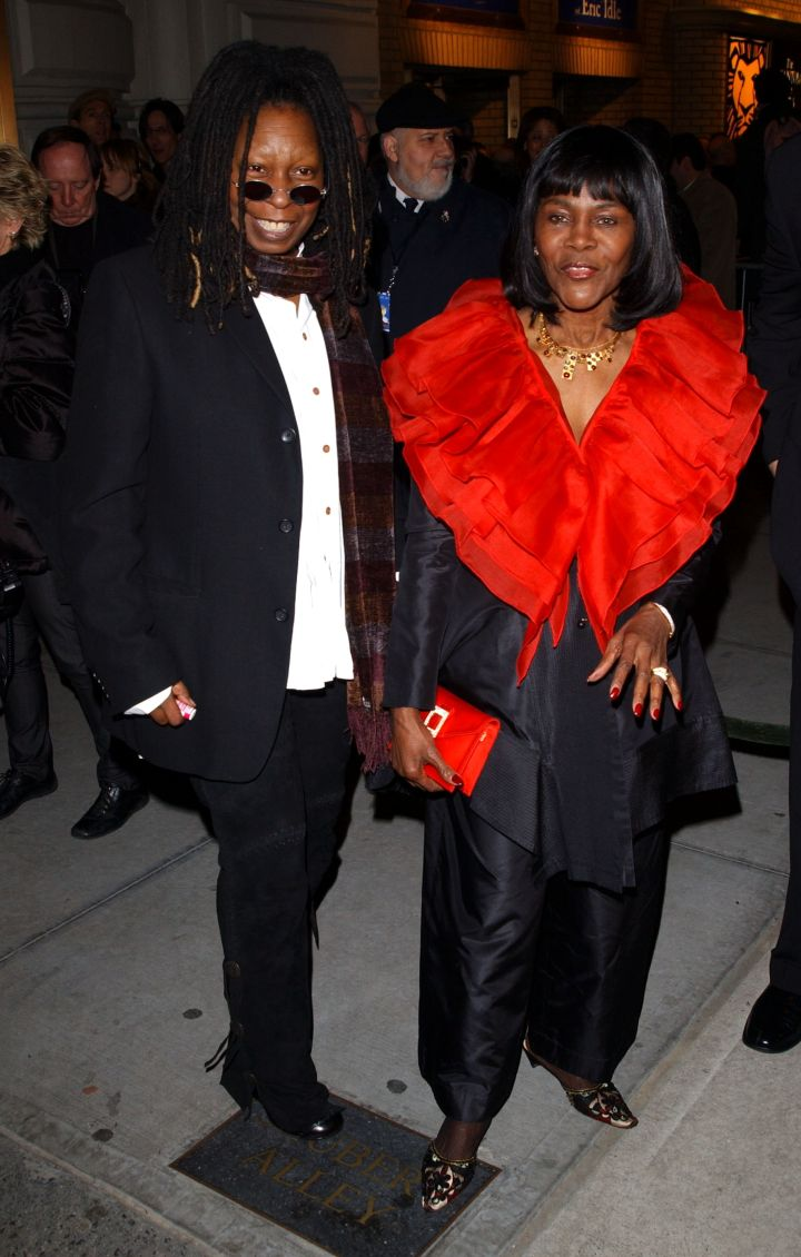 """MS. CICELY TYSON AT THE OPENING NIGHT OF """"SPAMALOT"""" NYC, 2005"""