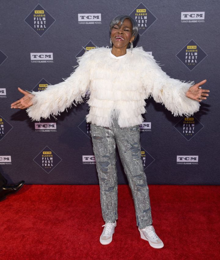 MS. CICELY TYSON AT THE TCM CLASSIC FILM FESTIVAL, 2018