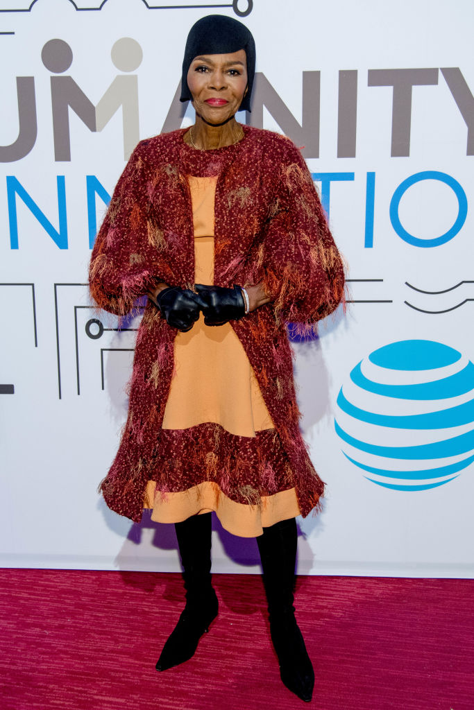 """MS. CICELY TYSON AT """"THE HUMANITY OF CONNECTION"""" NY SCREENING, 2018"""