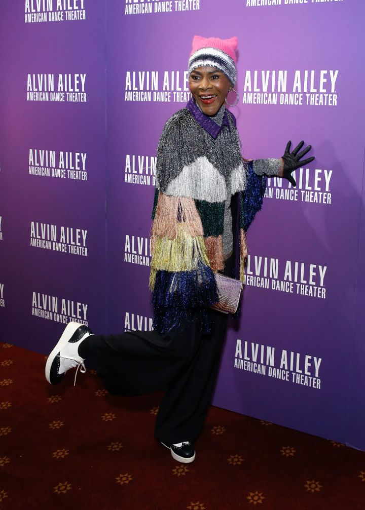 MS. CICELY TYSON AT ALVIN AILEY'S OPENING NIGHT GALA, 2017