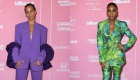 Alicia Keys and Normani at the 2019 Billboard Music Awards