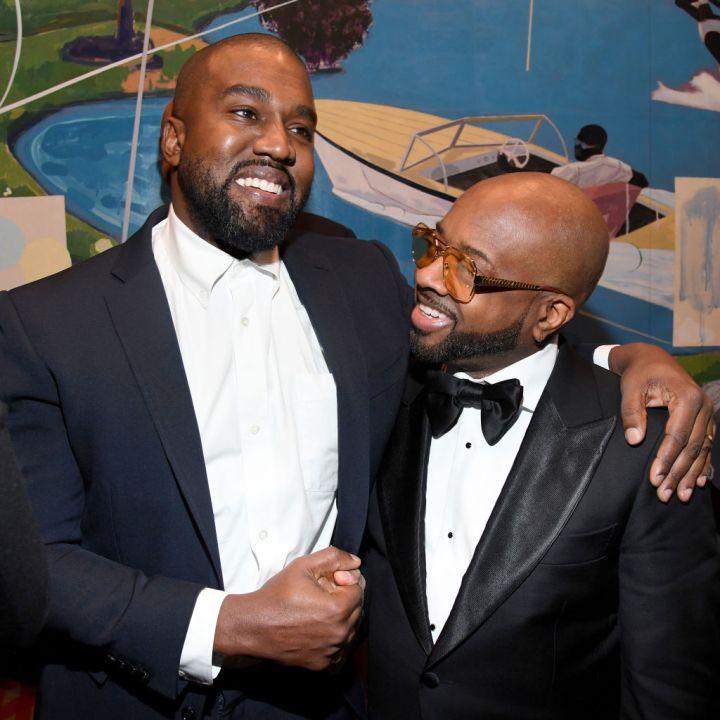 Kanye West and Jermaine Dupri