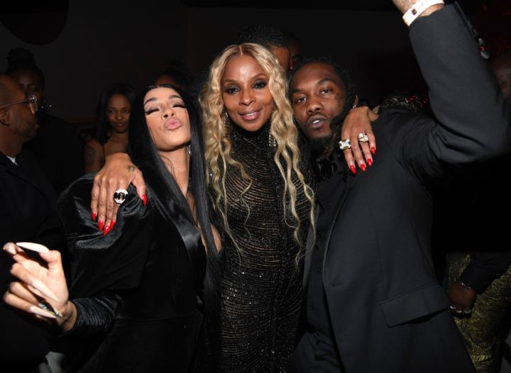 Cardi B, Mary J. Blige, and Offset