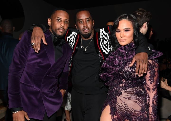Fabolous, Sean Combs, and Emily B.