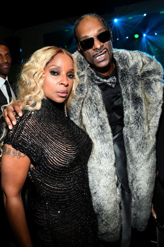 Mary J. Blige and Snoop Dogg