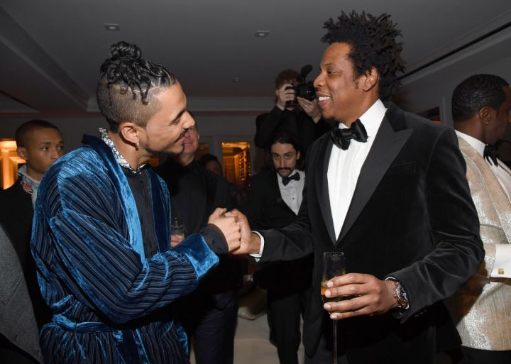 Quincy Combs and Jay-Z