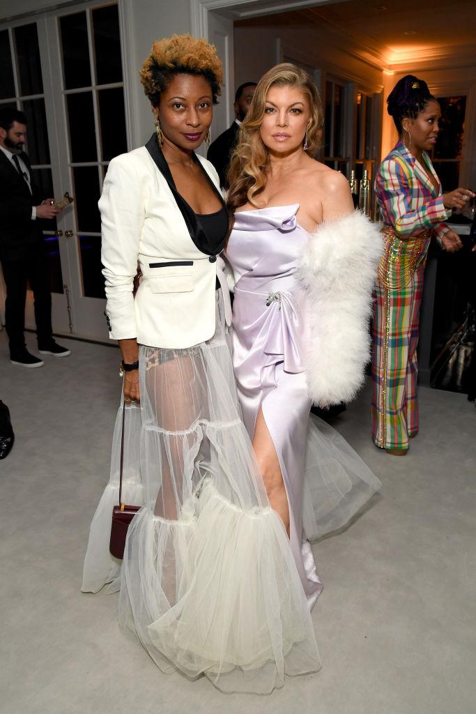 Fatima Robinson and Fergie