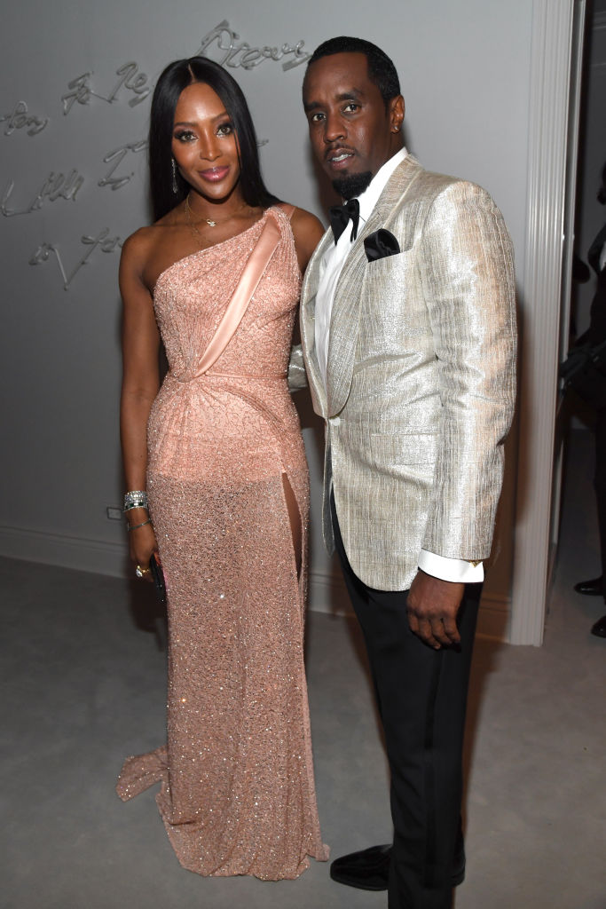 Naomi Campbell and Sean Combs