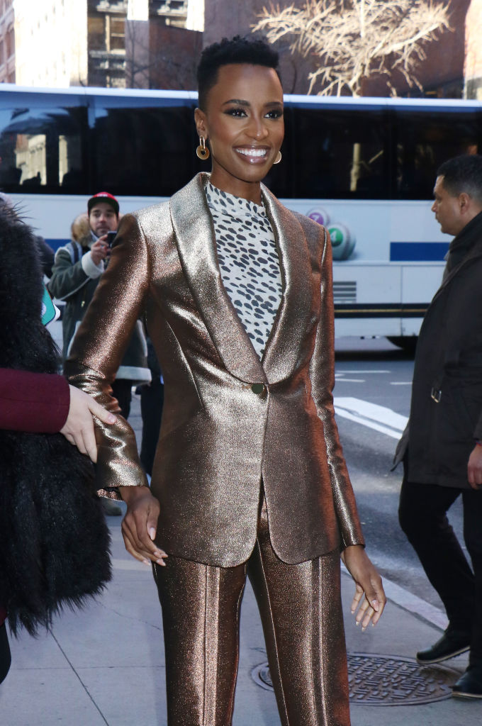 Celebrity Sightings In New York - December 12, 2019