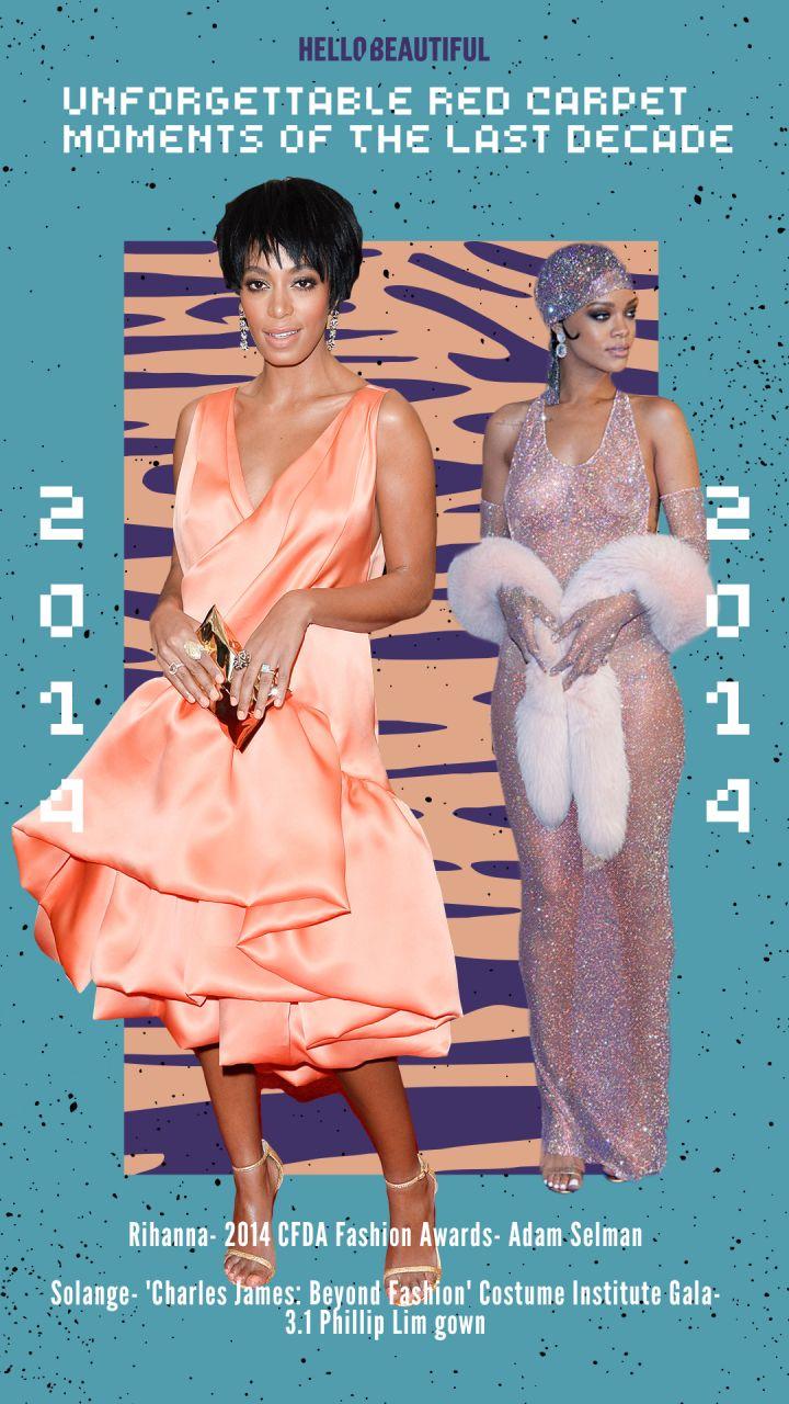 Solange, Rihanna