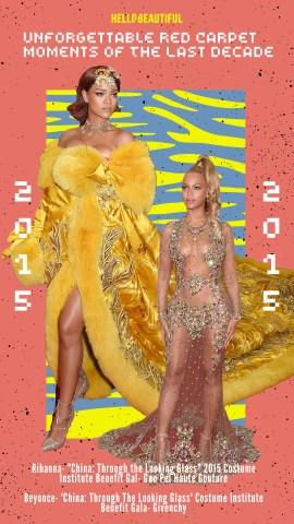 Rihanna, Beyonce