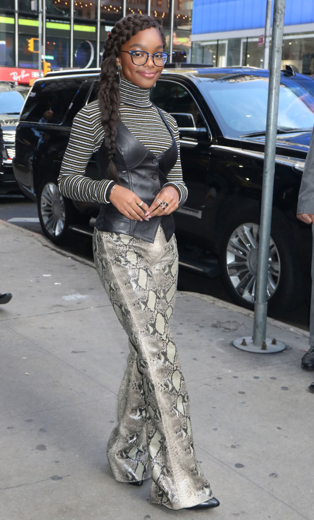 Celebrity Sightings In New York - October 14, 2019