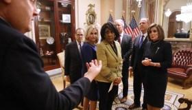 U.S. House Of Representatives Votes On Impeachment Of President Donald Trump