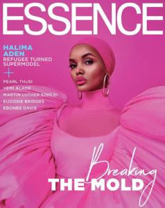 Halima Aden Essence Cover