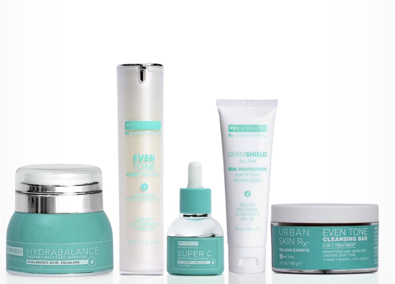 Urban Skin Rx Dark Spot And Even Skin Tone Essentials