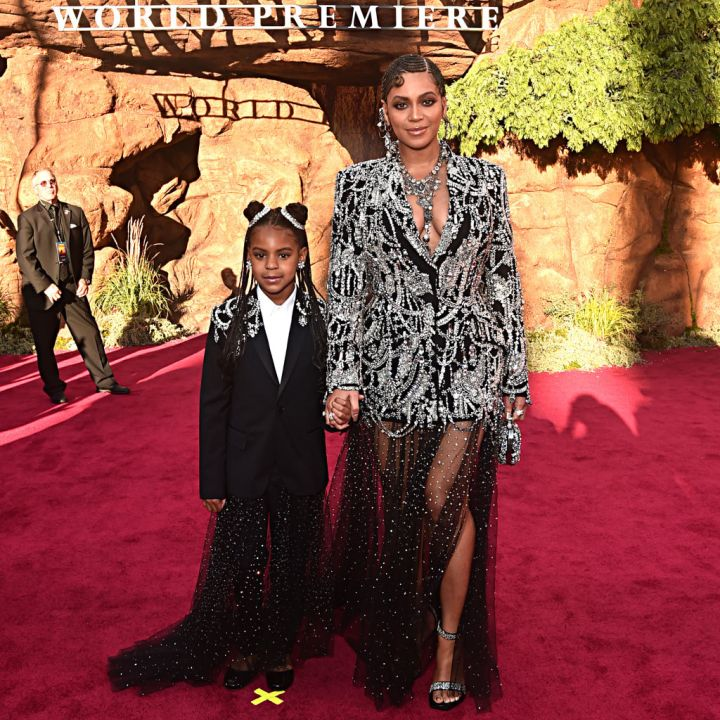 """BLUE IVY AND BEYONCE AT THE WORLD PREMIERE OF """"THE LION KING"""", 2019"""