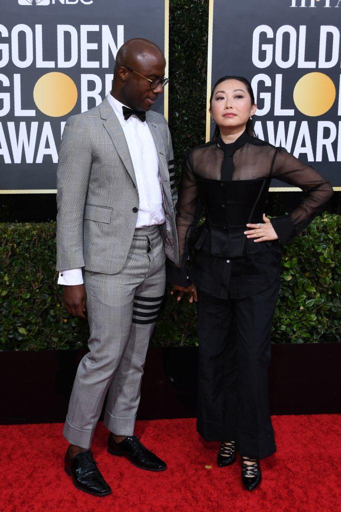 Barry Jenkins and partner director Lulu Wang
