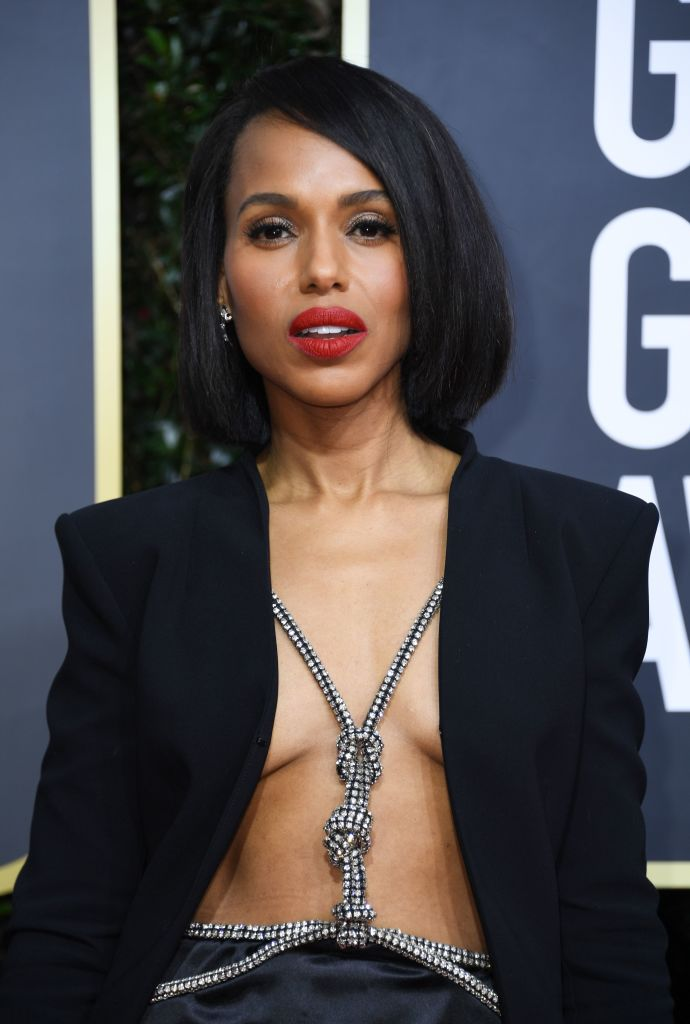 KERRY WASHINGTON AT THE 77TH ANNUAL GOLDEN GLOBES AWARDS, 2020