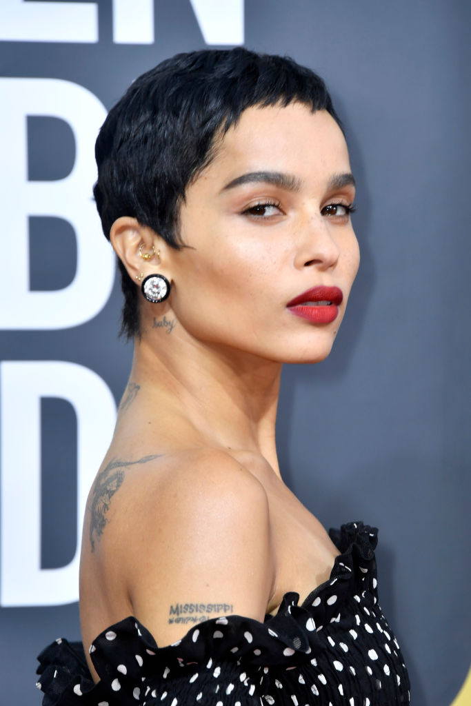 ZOE KRAVITZ AT THE 77TH ANNUAL GOLDEN GLOBES AWARDS, 2020