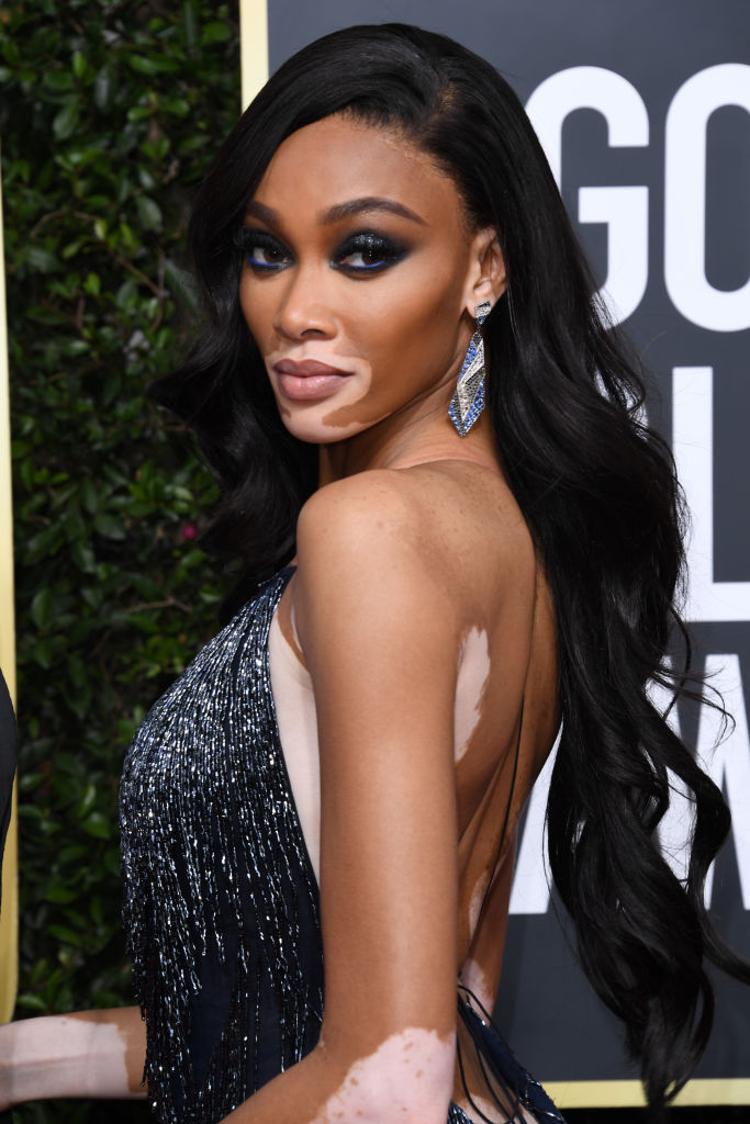 WINNIE HARLOW AT THE 77TH ANNUAL GOLDEN GLOBES AWARDS, 2020