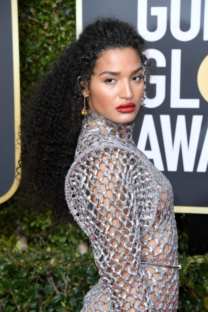 INDYA MOORE AT THE THE 77TH ANNUAL GOLDEN GLOBES AWARDS, 2020