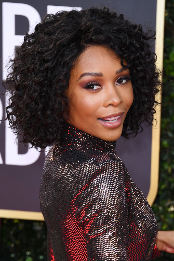 ZURI HALL AT THE 77TH ANNUAL GOLDEN GLOBES AWARDS, 2020