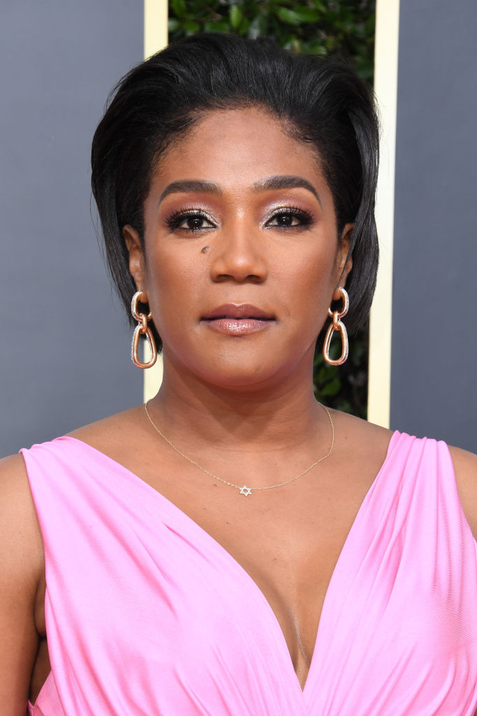 TIFFANY HADDISH AT THE 77TH ANNUAL GOLDEN GLOBES AWARDS, 2020
