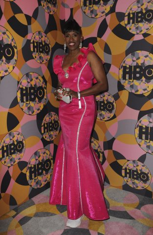 Jackie Joyner-Kersee at the after-party...