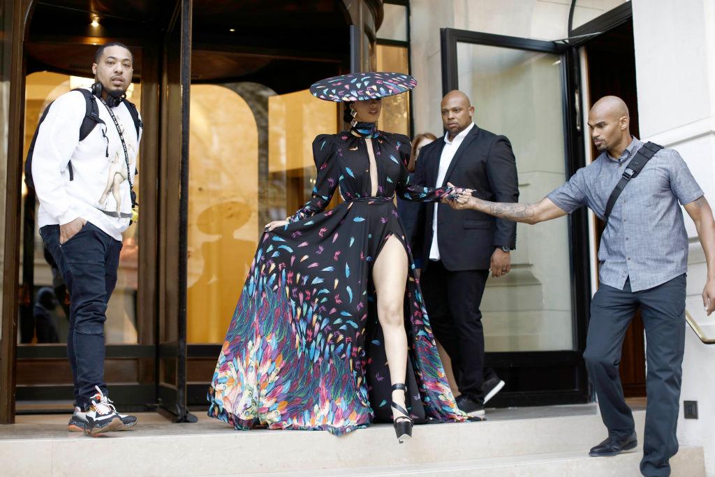 Celebrity Sightings In Paris