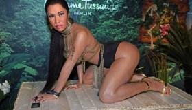 Evelyn Burdecki Unveils Wax Figure Of Nicki Minaj At Madame Tussauds Berlin