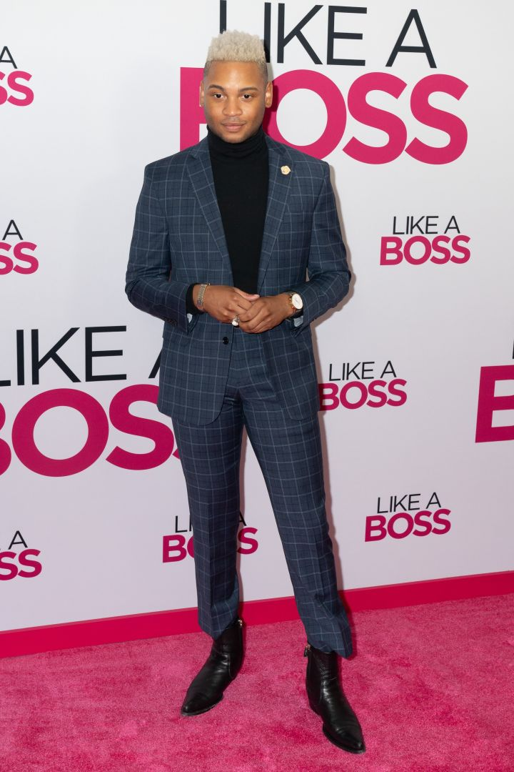 "Ryan Jamaal Swain at the ""Like A Boss"" World Premiere"